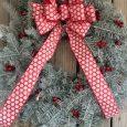 Fresh Decorated Wreath